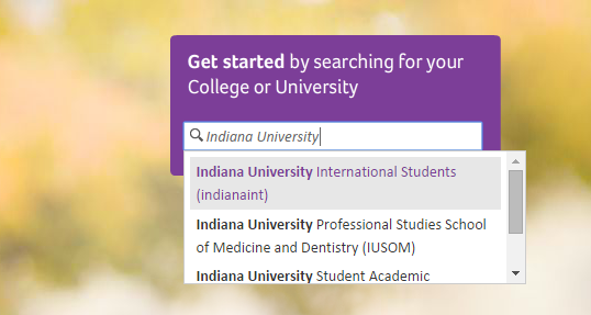 Aetna Health college search